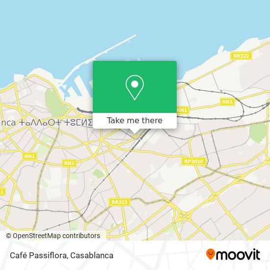 Café Passiflora map
