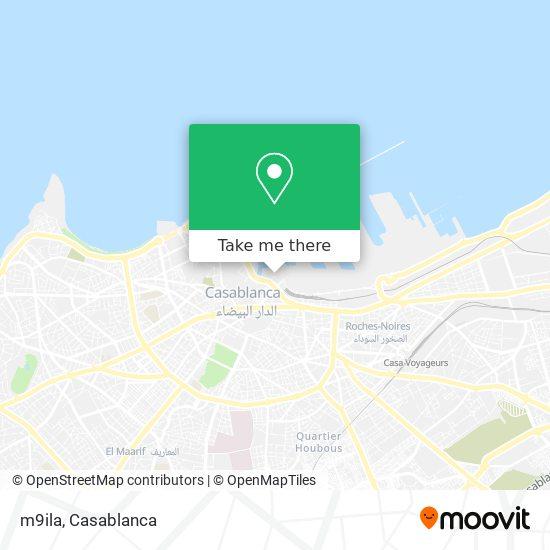 m9ila map
