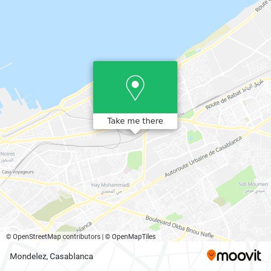 Mondelez map