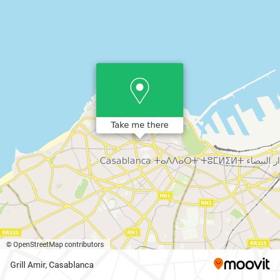 Grill Amir map