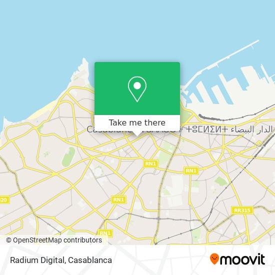 Radium Digital map