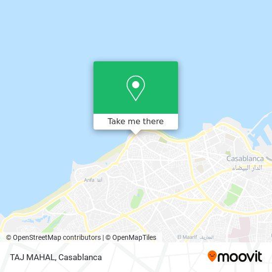 TAJ MAHAL map