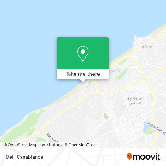 Deli map