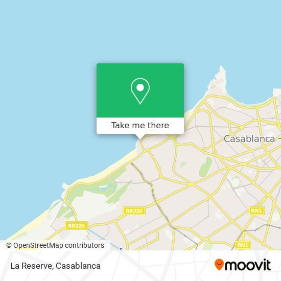 La Reserve map