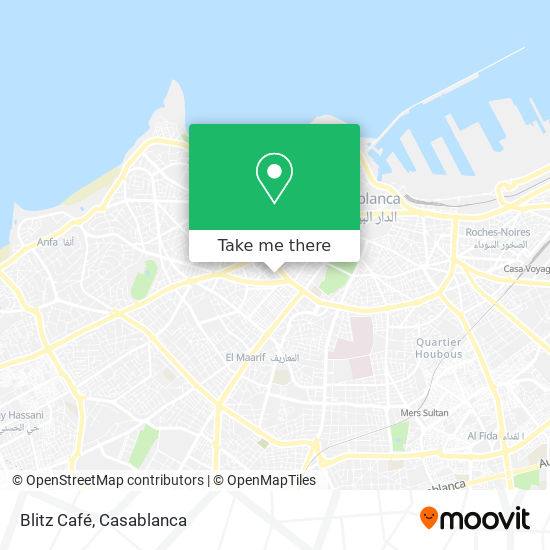 Blitz Café map