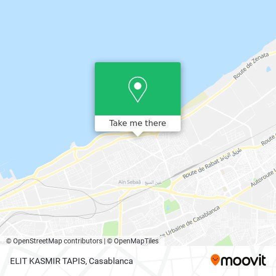 ELIT KASMIR TAPIS map