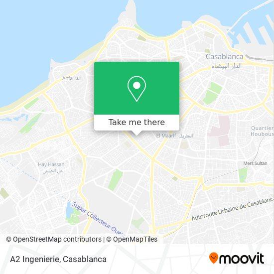 A2 Ingenierie map