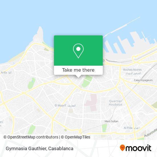 Gymnasia  Gauthier map