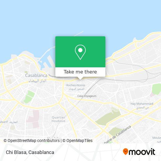 Chi Blasa map