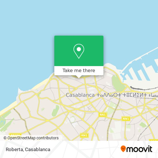 Roberta map