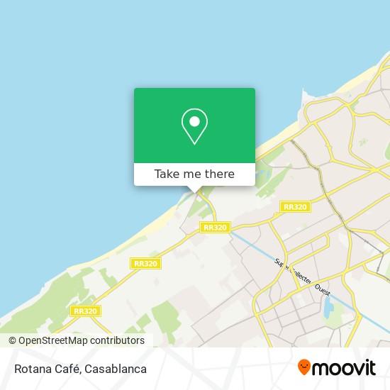 Rotana Café map