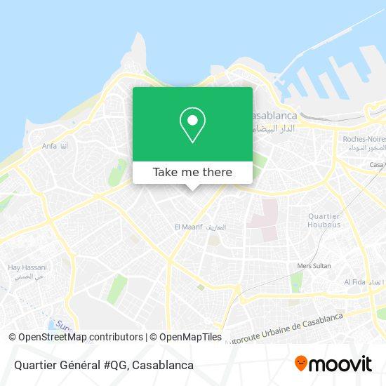Quartier Général #QG map