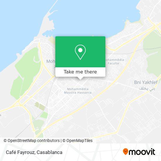 Café Fayrouz map