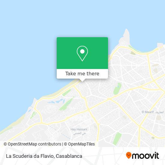 La Scuderia da Flavio map