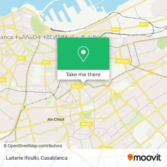 Laiterie Ifoulki map