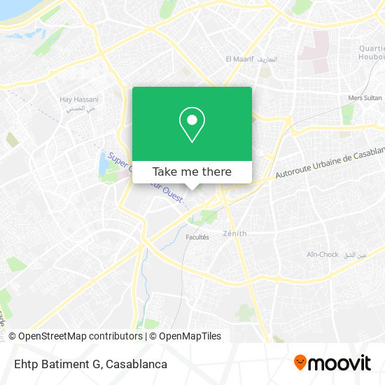 Ehtp Batiment G map