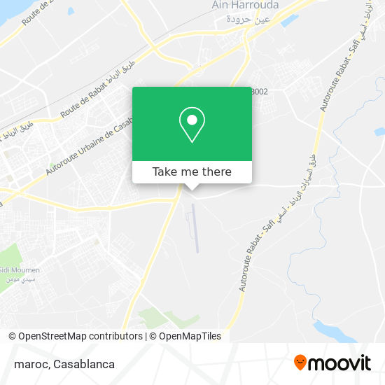 maroc map