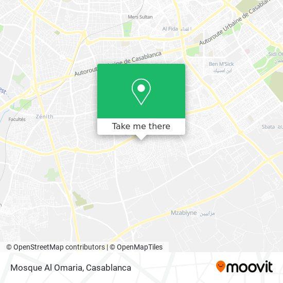 Mosque Al Omaria map