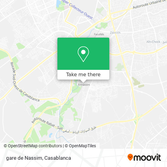 gare de Nassim map