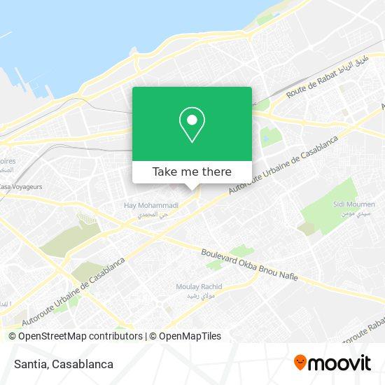 Santia map