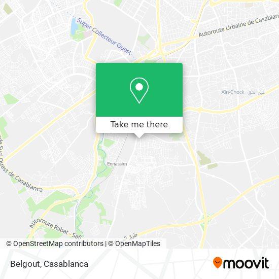 Belgout map