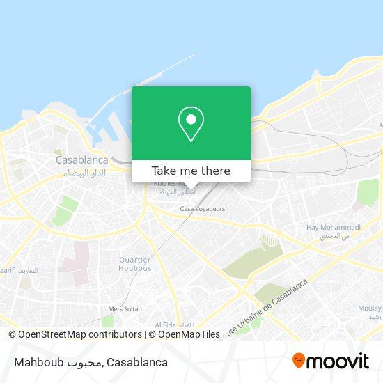 Mahboub محبوب map