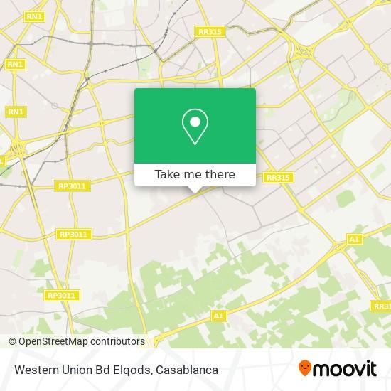 Western Union Bd Elqods map
