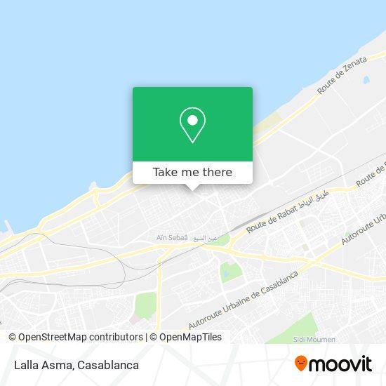 Lalla Asma map
