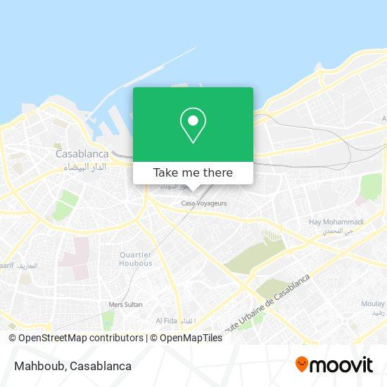 Mahboub map