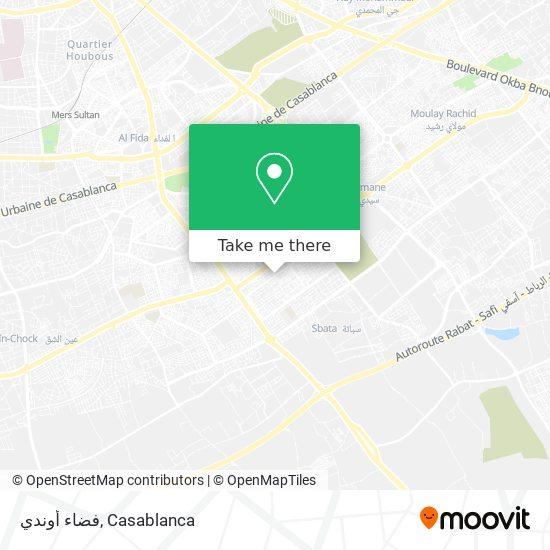 فضاء أوندي map
