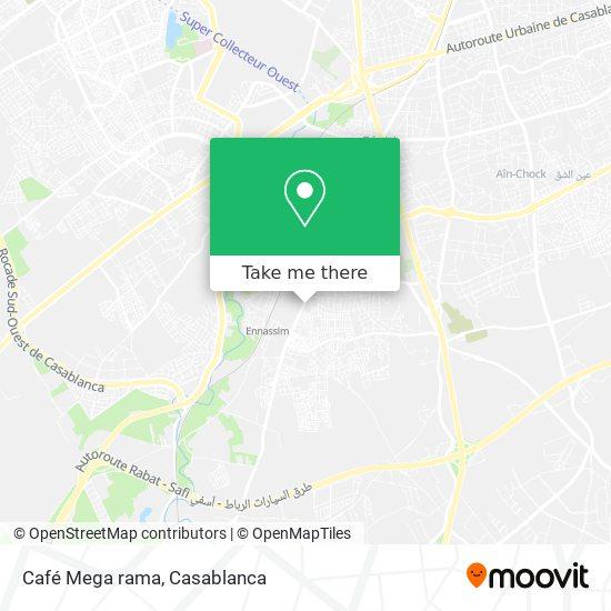 Café Mega rama map