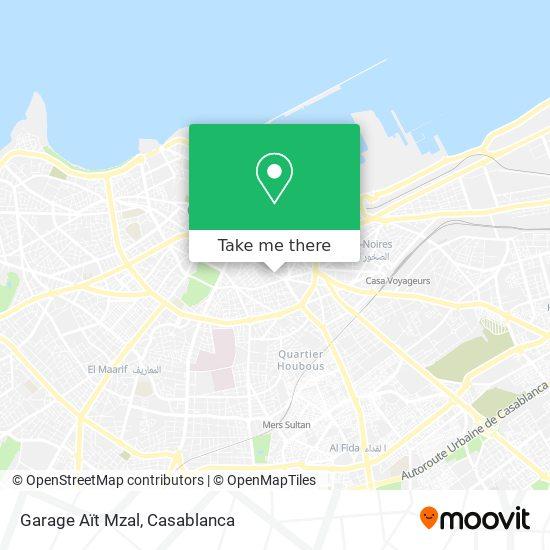 Garage Aït Mzal map