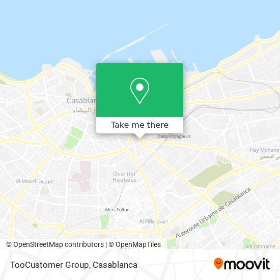 TooCustomer Group map