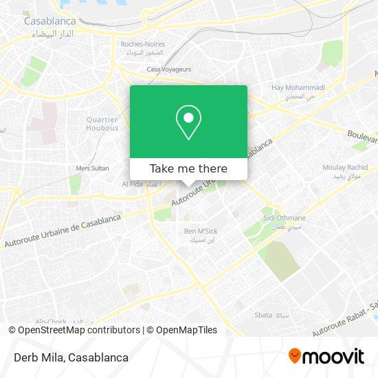Derb Mila map
