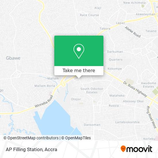 AP Filling Station map