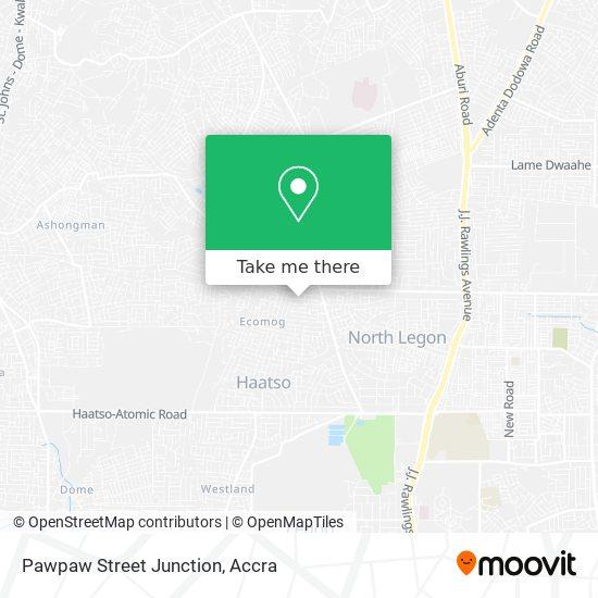 Pawpaw Street Junction map