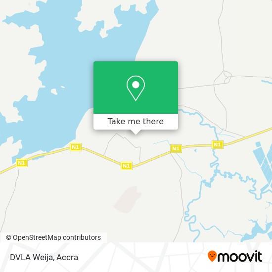 DVLA Weija map