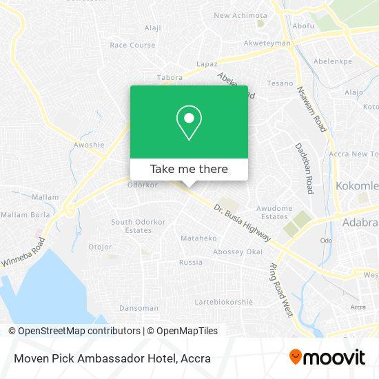 Moven Pick Ambassador Hotel map