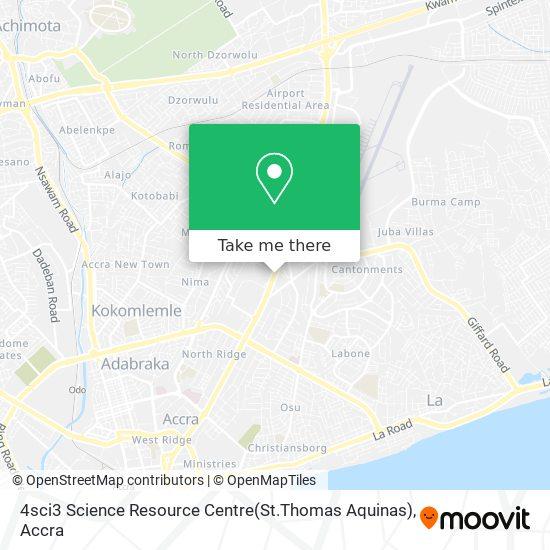 4sci3  Science Resource Centre(St.Thomas  Aquinas) map