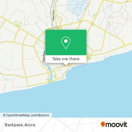 Backpass map