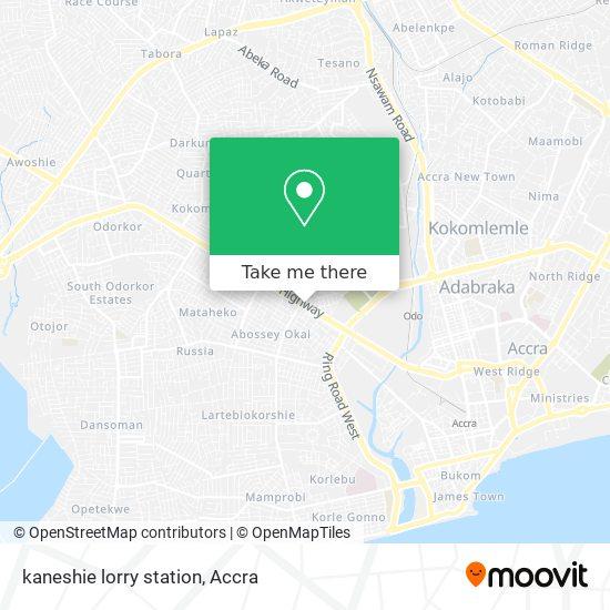kaneshie lorry station map
