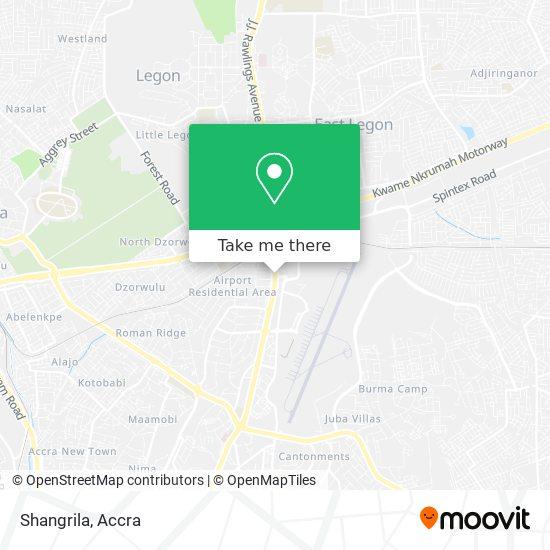 Shangrila map