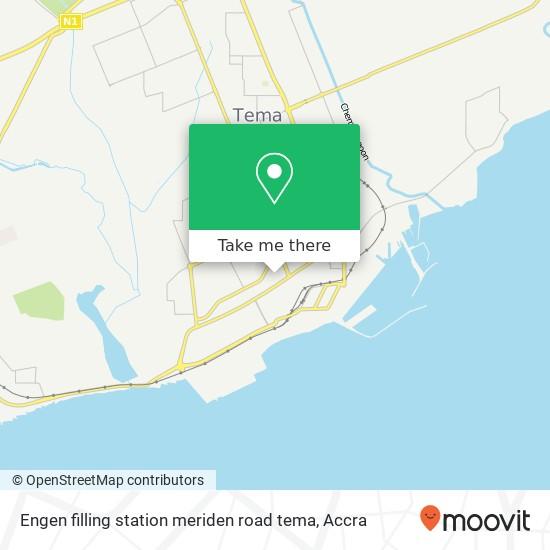 Engen filling station meriden road tema map