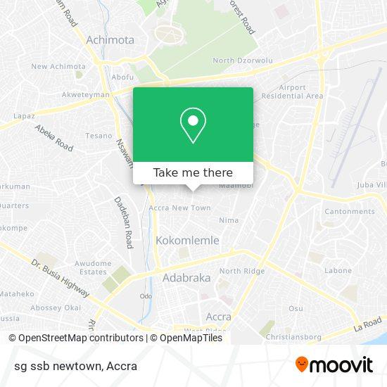 sg ssb newtown map