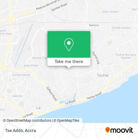 Tse Addo map