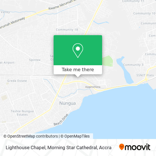 Lighthouse Chapel, Morning Star Cathedral map