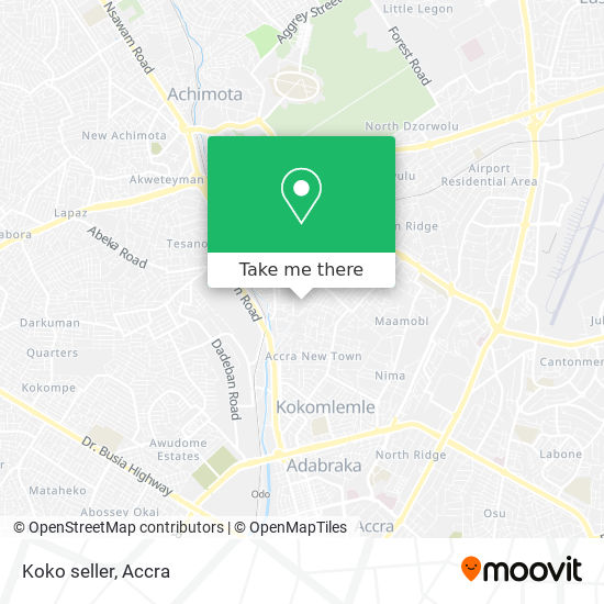 Koko seller map