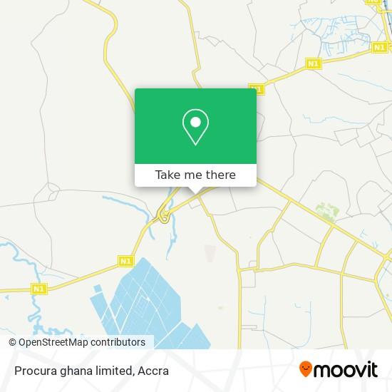 Procura ghana limited map