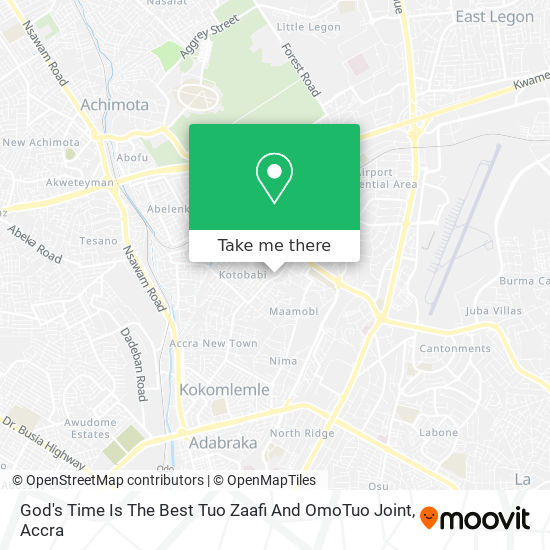 God's Time Is The Best Tuo Zaafi And OmoTuo Joint map