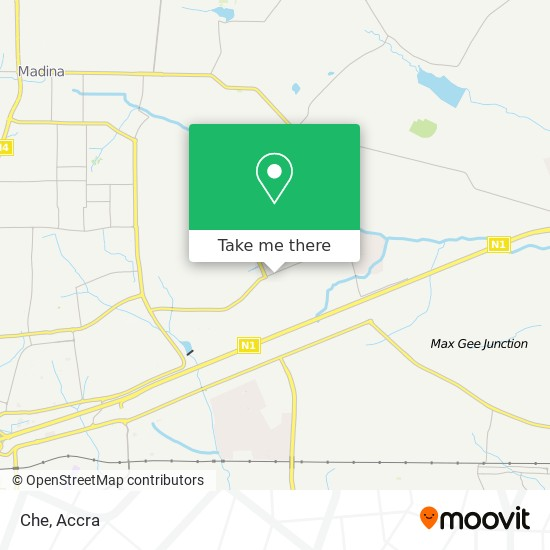 Che map